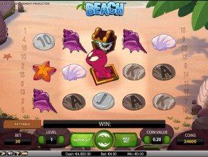 spela beach slot online