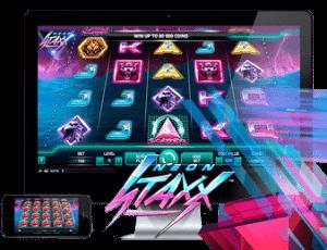 spelautomaten Neon Staxx
