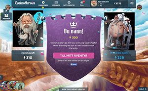 Casinoheroes duell