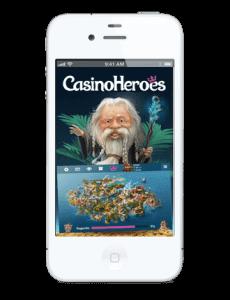 Casino Heroes iphone