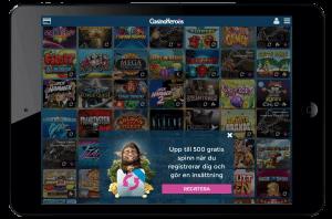 Casino Heroes mobilcasino ipad