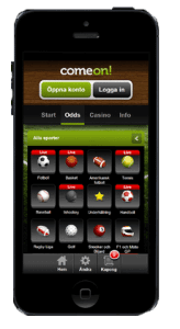 Comeon iphone casino