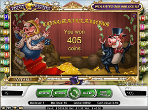 Bonusspel Piggy Riches