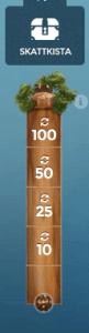 Casino Heroes ger dig 185 free spins på Hook's Heroes idag! (Bild 2)