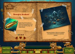 Havsmonstret Eye of the Kraken sprider skräckblandad förtjusning i casinovärlden (Bild 2.)