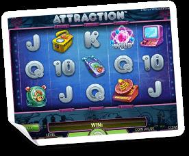 Attraction-slot