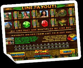 Aztec-Treasures-paytable