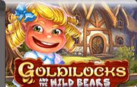 Goldilocks and the wild Bears slot Logga