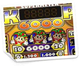 Jackpot 6000-paytable