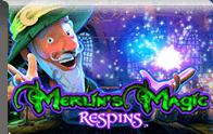 Merlins Magic Respins Logga
