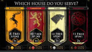 Spela på Game of Thrones