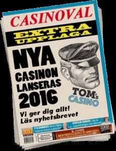 Nya casinon 2016