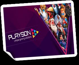online casinos med playson