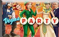 Vegas Party Logga