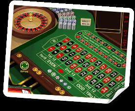 live roulette bord online.