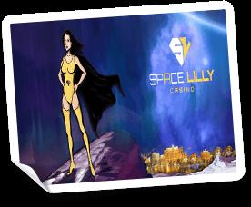 välkomstbonus på space lilly casino