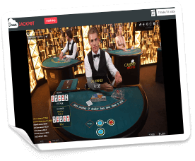 live casino på dream jackpot