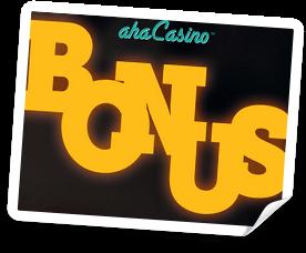 aha casino bonus