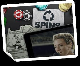 free spins på SuperLenny casino