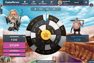 Casinoheroes utmaning