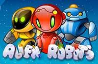 spel alien robots