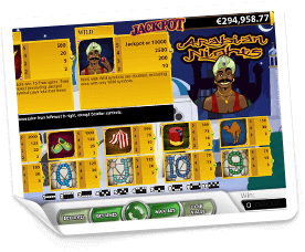 Arabian-Nights-paytable