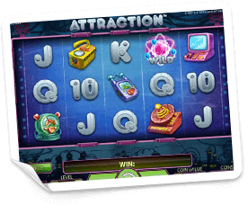 Attraction-slot