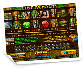 Aztec-Treasures-paytable