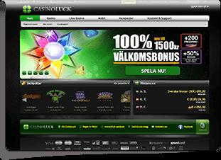 CasinoLuck Skärmdump