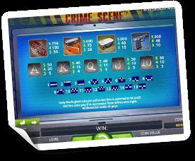 Crime-Scene-paytable