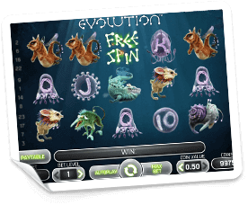 Evolution-slot