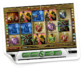 Excalibur-slot