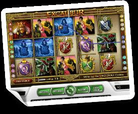 Excalibur-slot
