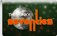 Funky Seventies slot Logga