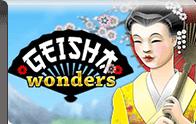 Geisha Wonders Slot Logga