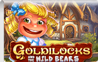 Goldilocks and the wild Bears slot Logga