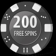 free spins på mega casino