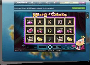 Casino Heroes Skärmdump