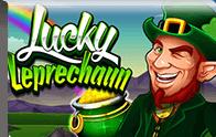Lucky leprechaun slot Logga