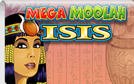 Mega Moolah Isis Logga