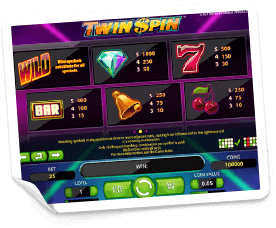 Twin-Spin-paytable
