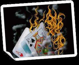 Blackjack är ett casino kortspel