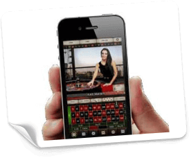 iPhone live casino