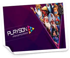 online casinos med playson