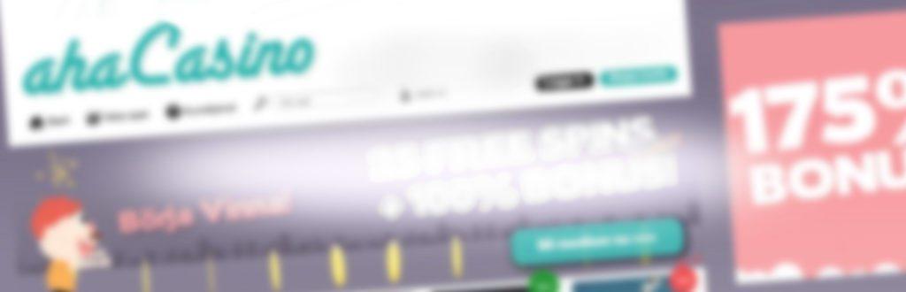 ahacasino bakgrundsbild för nyheter och recensioner
