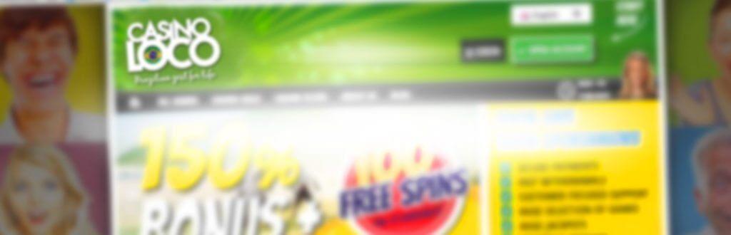 Casinoloco bakgrundsbild för nyheter och recensioner