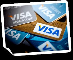 Visa Casino - Nätcasinon som accepterar Visa insättningar
