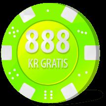 gratis bonus på 888 casino