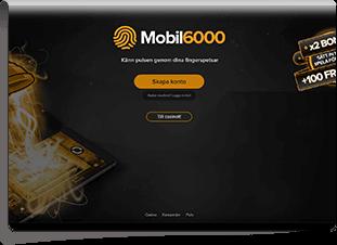 Mobil6000 Skärmdump