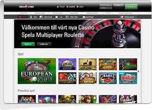Pokerstars Casino Skärmdump
